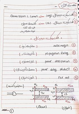 الکترونیک دیجیتال نوید حبیبی - مهر 1396