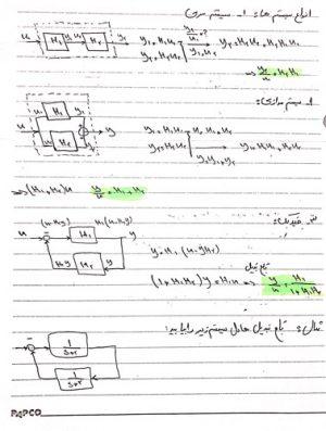 جزوه سیستم های کنترل خطی مهدی سیاوش - مهر ۱۳۹۶